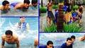 CHÙM ẢNH: U23 Thái Lan 'khổ luyện' dưới nước trước trận chung kết SEA Games 2015