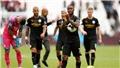 West Ham 0-5 Man City: Hat-trick của Sterling giúp Man City có 'bàn tay nhỏ' ngay trận đầu
