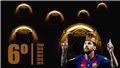 Leo Messi lần thứ 6 giành Quả bóng Vàng