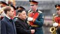 Đoàn tàu bọc thép chở nhà lãnh đạo Triều Tiên Kim Jong-un đã tới Vladivostok