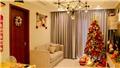 Trang trí đón Noel cho nhà chung cư diện tích nhỏ