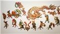 Họa sĩ Xuân Lam vẽ lại tranh dân gian Việt: 'Chuột múa rồng' - Sống dậy Tết Việt xưa