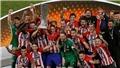 Marseille 0-3 Atletico Madrid: Griezmann lập cú đúp, Atletico lần thứ 3 vô địch Europa League