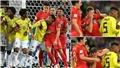 Colombia bị chỉ trích chơi thô bạo với cầu thủ Anh từ trong đến ngoài sân cỏ