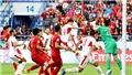VIDEO: Văn Lâm bắt nhịp cho đồng đội ăn mừng sau khi vào Tứ kết Asian Cup 2019
