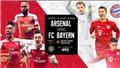 Xem trực tiếp bóng đá Arsenal vs Bayern tại ICC Cup (10h00, 18/07)
