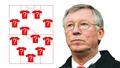 Đội hình những cầu thủ được Sir Alex tin dùng nhiều nhất ở MU