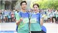 Ngọc Quỳnh - Lương Thanh của 'Hoa hồng trên ngực trái' bất ngờ 'hội ngộ' trên đường chạy marathon