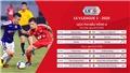 Cập nhật kết quả bóng đá và bảng xếp hạng V-League 2020 vòng 8