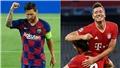 Kết quả bóng đá tứ kết cúp C1/Champions League: Barcelona 2-8 Bayern Munich
