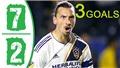 Lập hat-trick, Ibrahimovic đi vào lịch sử LA Galaxy