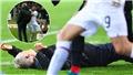 Bundesliga: Thủ quân Frankfurt gây sốc khi huých HLV đối thủ nằm sân