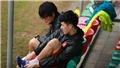 'Thần y' Hàn Quốc xuất hiện trong buổi tập của U23 Việt Nam