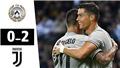 Video Udinese 0-2 Juventus: Ronaldo rực sáng, Juve lập kỷ lục