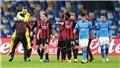 Video clip bàn thắng trận Milan vs Napoli