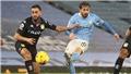 Man City: Tranh cãi kịch liệt ở bàn mở tỷ số của Silva vào lưới Aston Villa