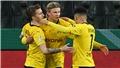 Dortmund phản công mãn nhãn với Reus - Haaland - Sancho