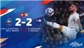 Kylian Mbappe toả sáng phút 90, Pháp thoát thua trước Iceland