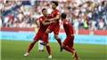 VTV6. Trực tiếp bóng đá. Việt Nam 1-1 (Pen: 4-2) Jordan: Việt Nam giành vé vào tứ kết Asian Cup 2019!
