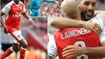CHÙM ẢNH: Màn hội ngộ của những danh thủ Arsenal và AC Milan