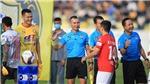 Thủ môn Thanh Thắng bị treo giò 3 trận vì phản ứng trọng tài