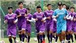 Văn Hậu bất ngờ trở lại tập luyện cùng tuyển Việt Nam