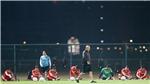 TRỰC TIẾP: HLV Park Hang Seo và Duy Mạnh họp báo trước trận Việt Nam vs UAE