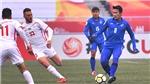 Cộng đồng mạng sốc vì U23 Thái Lan sắp bị loại khỏi ASIAD 2018
