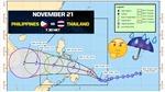 Bão Samuel đe dọa trận đấu của Thái Lan và Phillipines