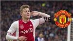 Siêu trung vệ MU nói điều này về De Ligt làm fan Quỷ đỏ 'mát lòng mát dạ'