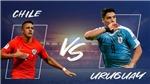 Link xem trực tiếp bóng đá Chile đấu với Uruguay (06h00, 25/06), Copa America 2019