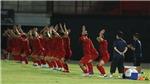 CHÙM ẢNH: Việt Nam đã tập bài gì ở  buổi cuối trước thềm trận đấu với Indonesia?