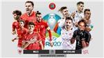 Soi kèo Wales vs Thụy Sỹ. Kèo nhà cái EURO 2021. Trực tiếp bóng đá VTV6, VTV3