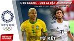 Kèo nhà cái. Soi kèo U23 Brazil vsAi Cập. VTV6 VTV5 trực tiếp bóng đá Olympic 2021