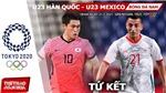 Kèo nhà cái. Soi kèo U23 Mexico vsHàn Quốc. VTV6 VTV5 trực tiếp bóng đá Olympic 2021