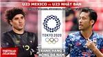 Soi kèo nhà cái, nhận định bóng đá U23 Mexico vs Nhật Bản, Olympic 2021 (18h, 6/8)