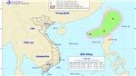 CẬP NHẬT: Trong 24 giờ tới, áp thấp nhiệt đới di chuyển theo hướng Đông Đông Bắc và mạnh thêm