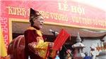 Lễ Kinh Dương Vương tri ân tổ tiên có công khai thiên lập quốc