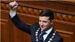 Tân Tổng thống Ukraine tuyên thệ nhậm chức và giải tán Quốc hội