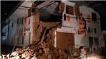 Động đất 8,0 độ Richter gây thương vong tại Peru