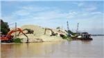 Hà Nội kiên quyết xóa bỏ các bến bãi tập kết cát, sỏi trái phép