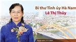 Bí thư Tỉnh ủy Hà Nam Lê Thị Thủy