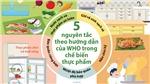 5 nguyên tắc theo hướng dẫn của WHO trong chế biến thực phẩm