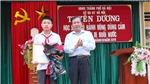 Hà Nội: Khen thưởng học sinh Phan Trung Hiếu dũng cảm cứu hai em nhỏ bị đuối nước