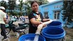 Hà Nội: Thông tin về công tác khắc phục sự cố nguồn cung cấp nước sạch sông Đà
