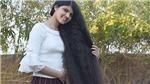 Nữ sinh Ấn Độ có mái tóc dài nhất thế giới