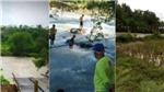Sập cầu tại Indonesia làm 9 người chết đuối