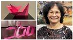Nữ điêu khắc Lê Thị Hiền: 'Gấp thép' nhẹ như trò chơi gấp giấy…