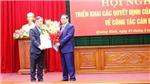 Thứ trưởng Bộ Kế hoạch và Đầu tư giữ chức Bí thư Tỉnh ủy Quảng Bình