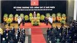 Toàn văn Lời điếu tại Lễ truy điệu nguyên Tổng Bí thư Lê Khả Phiêu